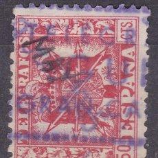 Sellos: FF6-TELÉGRAFOS MATASELLOS GUIA GRAN CANARIA . Lote 114741443