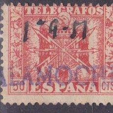 Sellos: FF6-TELÉGRAFOS MATASELLOS CALAMOCHA TERUEL. Lote 114741523