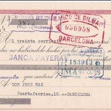 Sellos: AP5-POSTALES FISCALES FRANCO LETRA 1943 INCA . INTERESANTE FRANQUEO COMPLEMENTARIO . Lote 115331199