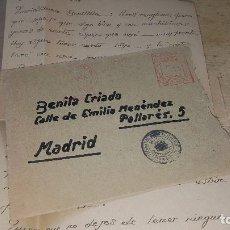Sellos: SOBRE CON MATASELLOS ROJO DE REPUBLICA ESPAÑOLA Y VALENCIA, SELLO TAMPON EJERCITO DE LEVANTE 1938. Lote 115571383