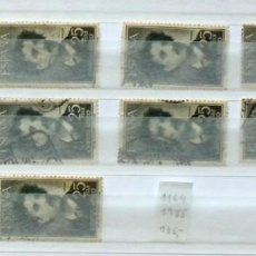 Sellos: SELLOS ESPAÑA 1955-FOTO 727- Nº 1164, 10 SELLOS, USADOS. Lote 115888399