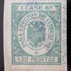 Sellos: SELLO PARA EFECTOS DE COMERCIO CLASE 8 1,20 PESETAS. Lote 116943635