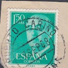 Sellos: CORUÑA.- SELLO DE FRANCO CON MATASELLO PUERTO CARIÑO. . Lote 118019151
