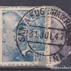 Sellos: CORUÑA.- SELLO DE FRANCO CON MATASELLO SANTA EUGENIA DE RIVEIRA . Lote 118019259