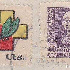 Sellos: CUENCA.- SELLO ISABEL Y FRENTE Y HOSPITALES CON MATASELLOS FECHADOR CUENCA. Lote 118019715