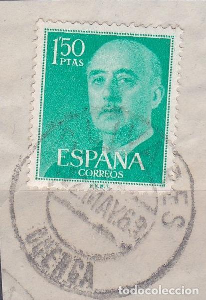 CUENCA.- SELLO DE FRANCO CON MATASELLOS FECHADOR OLIVARES (Sellos - España - Estado Español - De 1.936 a 1.949 - Usados)
