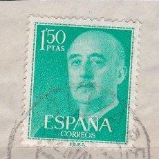 Sellos: CUENCA.- SELLO DE FRANCO CON MATASELLOS FECHADOR OLIVARES. Lote 118020259