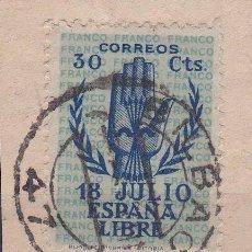 Sellos: VIZCAYA.- SELLO Nº 853 ESTADO ESPAÑOL MATASELLOS BILBAO. Lote 118581383