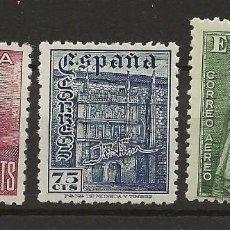 Sellos: R35.G15/ EDIFIL 1002/03, MNH**, 1946, DIA DEL SELLO. Lote 118908523