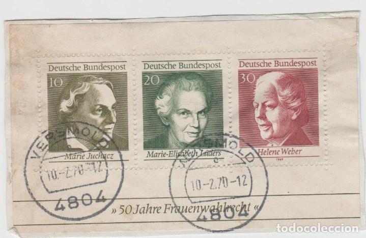 LOTE A SELLOS ALEMANIA BONITOS MATASELLOS (Sellos - España - Estado Español - De 1.936 a 1.949 - Cartas)