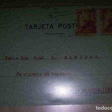 Sellos: VILLANUEVA DE CÓRDOBA. MADRID. EL CID. 10CTS. 10CTS. 1940. FABRICARTE DE HARINA.. Lote 119616939