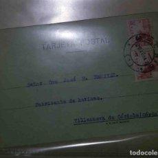 Sellos: VILLANUEVA DE CÓRDOBA. MADRID. EL CID. 10CTS. 10CTS. 1942. FABRICARTE DE HARINA.. Lote 119617315