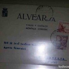 Sellos: VILLANUEVA DE CÓRDOBA. MONTILLA, CÓRDOBA. EL CID. 10CTS. FRANCO 25CTS ALVEAR. 1948. . Lote 119617647
