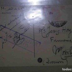 Sellos: ZAMORA. MADRID. EL CID. 10CTS. 1939. CENSURA MILITAR. MADRID.. Lote 119618019