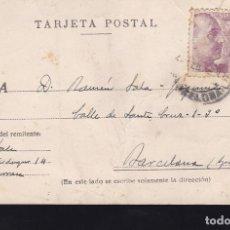 Sellos: F23-66-TARJETA POSTAL TARRASA BARCELONA 1946. Lote 119908175