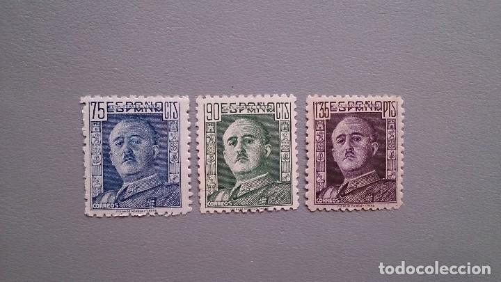 ESPAÑA - 1946-1947 - EDIFIL 999/1001 - MNH** - NUEVOS - SERIE COMPLETA - GENERAL FRANCO. (Sellos - España - Estado Español - De 1.936 a 1.949 - Nuevos)