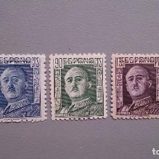 Sellos: ESPAÑA - 1946-1947 - EDIFIL 999/1001 - MNH** - NUEVOS - SERIE COMPLETA - GENERAL FRANCO.. Lote 120426339