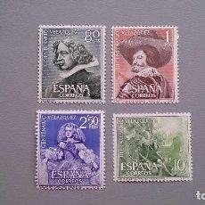 Sellos: ESPAÑA - 1961 - EDIFIL 1340/1343 - SERIE COMPLETA - MNH** - NUEVOS - CENTENARIO MUERTE CERVENTES.. Lote 120427699