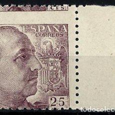 Sellos: 1940 - 1945 FRANCO EDIFIL 923DH** BORDE DERECHO VC 26,50€. Lote 120498819