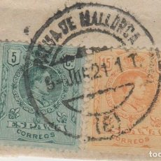 Sellos: LOTE O SELLOS MATA SELLOS BALEARES 1921. Lote 121027347
