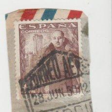 Sellos: LOTE O MATA SELLOS CORREO AEREO 1950. Lote 121027907