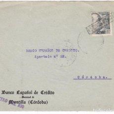 Sellos: F25-16- FRONTAL CASTRO DEL RIO CON FRANCO MATASELLOS LINEAL ESTUVO EN LISTA . Lote 122046431