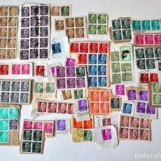 Sellos: EXCELENTE LOTE DE 380 SELLOS DE FRANCISCO FRANCO.USADOS . Lote 122826087