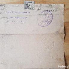 Sellos: 1943 NOTIFICACION. Lote 123120763