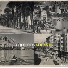 Sellos: ALICANTE 1953 - RARA POSTAL A ORAN DEVUELTA - VARIAS MARCAS POSTALES - CARTERIA, CORREO AEREO. Lote 125150831