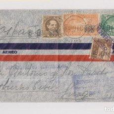 Sellos: SOBRE DE CUBA A LUGO. GALICIA. CENSURA DE VIGO. 1943. DIVERSAS MARCAS Y CENSURAS. VER DORSO. Lote 127560195