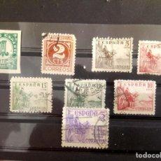 Sellos: ESPAÑA, CIFRAS Y CID, SELLOS DE 1940 Y 1949 *914/18 Y 1062. Lote 127708335