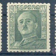 Sellos: AÑO 1946 (999-1001) GENERAL FRANCO (NUEVO). Lote 127968163
