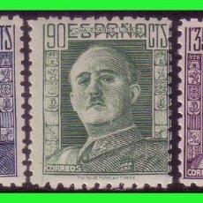 Sellos: 1946 GENERAL FRANCO, EDIFIL Nº 999 A 1001 * . Lote 128738947