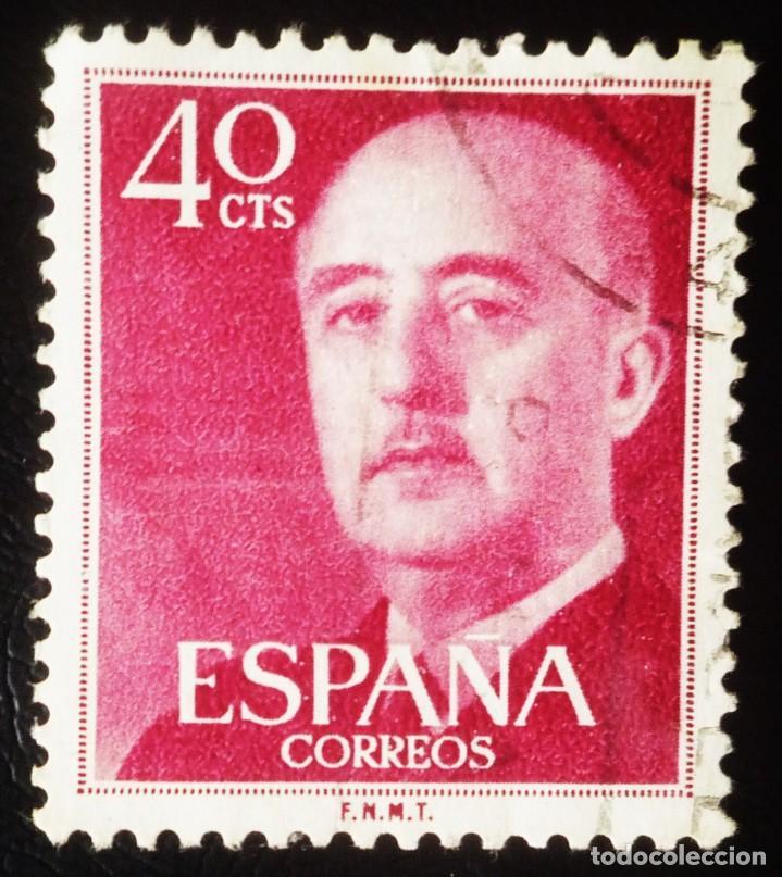 SELLO DE 40 CENTIMOS DE FRANCO (Sellos - España - Estado Español - De 1.936 a 1.949 - Usados)