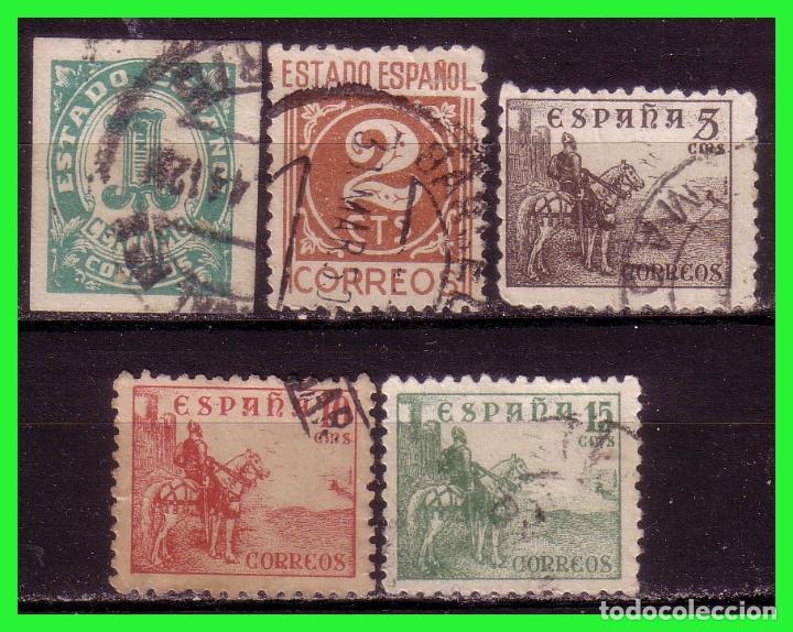 1940 CIFRAS Y CID, EDIFIL Nº 914 A 918 (O) (Sellos - España - Estado Español - De 1.936 a 1.949 - Nuevos)