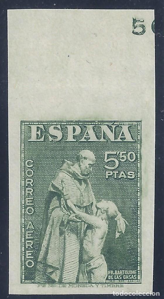 EDIFIL 1004S DÍA DEL DELLO. FIESTA DE LA HISPANIDAD 1946. SIN DENTAR. VALOR CATÁLOGO: 33 €. MLH. (Sellos - España - Estado Español - De 1.936 a 1.949 - Nuevos)