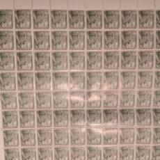 Sellos: DOS PLIEGOS DE 200 SELLOS CADA UNO, SERIE A, FRANCO 30 CTS 1948. Lote 130941520