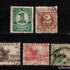 Sellos: ESPAÑA 914/18 - AÑO 1940 - EL CID Y CIFRAS. Lote 131287115