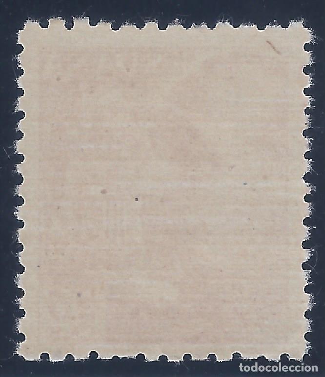 Sellos: EDIFIL 923 GENERAL FRANCO 1940-1945 (VARIEDAD 923cc...COLOR CAMBIADO A CASTAÑO ROJIZO). LUJO. MNH * - Foto 2 - 132735162