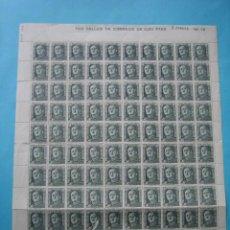 Briefmarken - FILATELIA - FRANCO - EDIFIL 1060 - 90 CENTIMOS - 0,90 PSETAS - PLIEGO COMPLETO DE 100 SELLOS - VER - 132893858