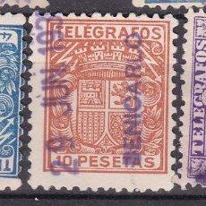 Sellos: VV23-TELÉGRAFOS USADOS BENICARLÓ CASTELLÓN X 3. Lote 133900770