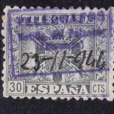 Sellos: VV27- TELÉGRAFOS MATASELLOS MOTILLA DEL PALANCAR CUENCA . Lote 133912194