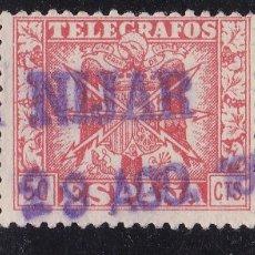 Sellos: VV27- TELÉGRAFOS MATASELLOS NIJAR ALMERÍA . Lote 133912242