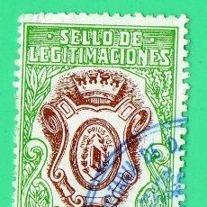 Sellos: SELLO DE LEGITIMACIONES 25 PESETAS. Lote 134049430