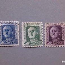 Sellos: ESPAÑA - 1946-1947 - EDIFIL 999/1001 - MNH** - NUEVOS - SERIE COMPLETA - GENERAL FRANCO.. Lote 134439874