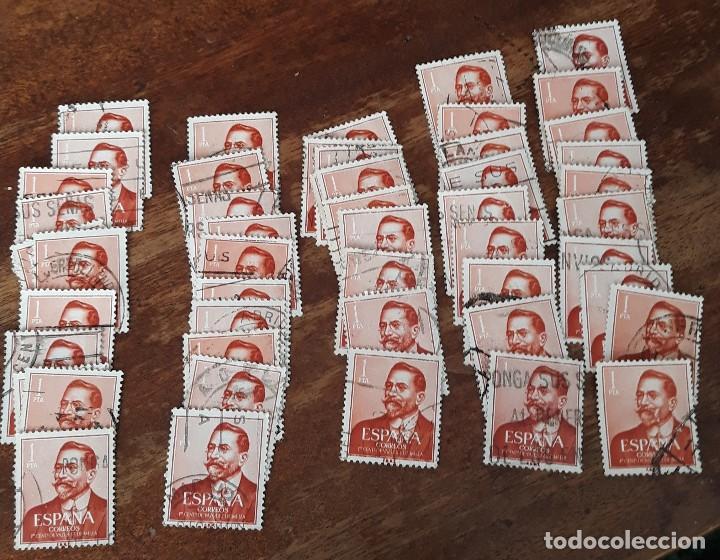 EDIFIL 1351- VAZQUEZ DE MELLA - 50 UNIDADES (Sellos - España - Estado Español - De 1.936 a 1.949 - Usados)