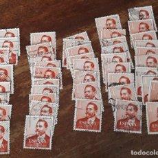 Sellos: EDIFIL 1351- VAZQUEZ DE MELLA - 50 UNIDADES. Lote 134926550