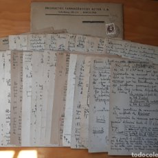 Sellos: CARTA MANUSCRITA DE BARCELONA A MADRID 1946. Lote 136179764