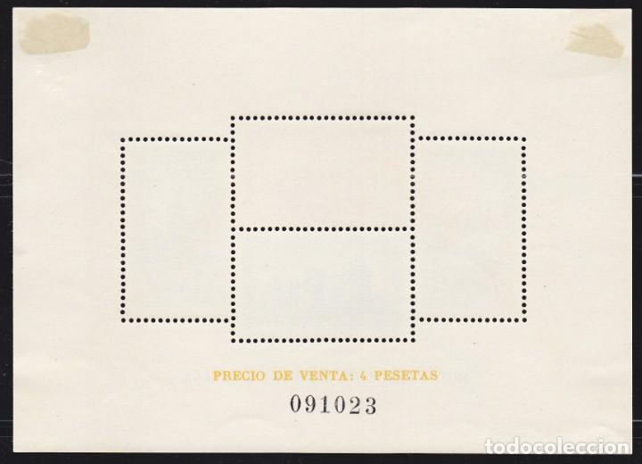 Sellos: B44 Hojita Catedrales Edifil nº 847 * Nueva con goma y señal de fijasello - Foto 2 - 136803694