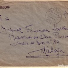 Sellos: ALGATOCIN A MÁLAGA, CON FRANQUICIA DEL CARTERO.. Lote 137219170